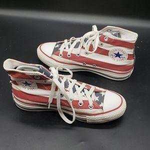 Converse Chuck Taylor Stars Stripes Flag Hi-Top 7